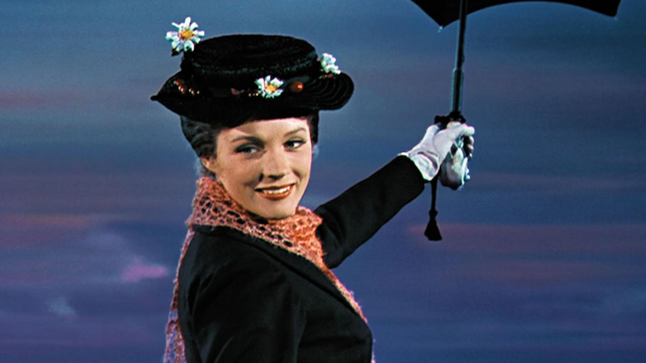 Julie Andrews dans Mary Poppins