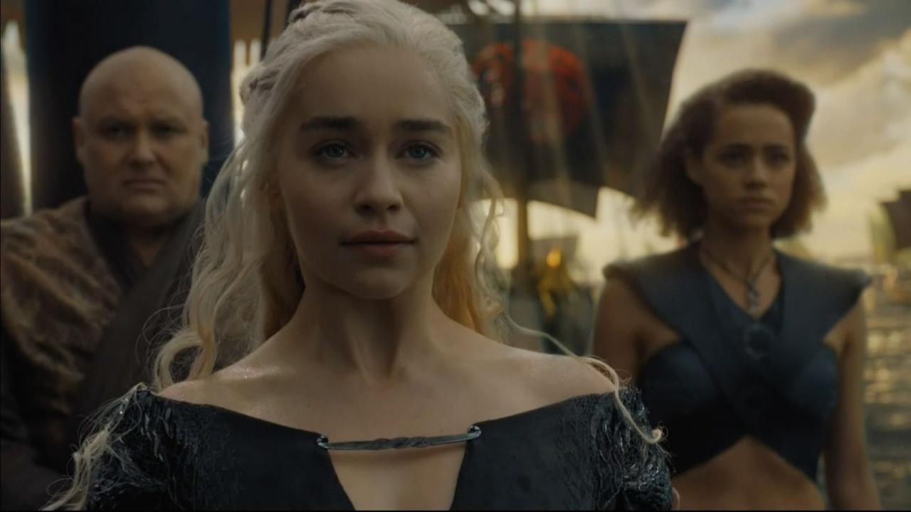 Emilia Clarke dit adieu à Game of Thrones