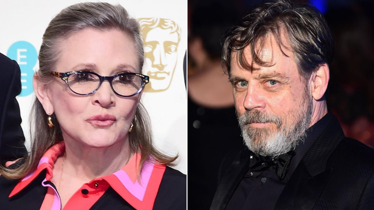Mark Hamill Carrie Fisher Star Wars 9