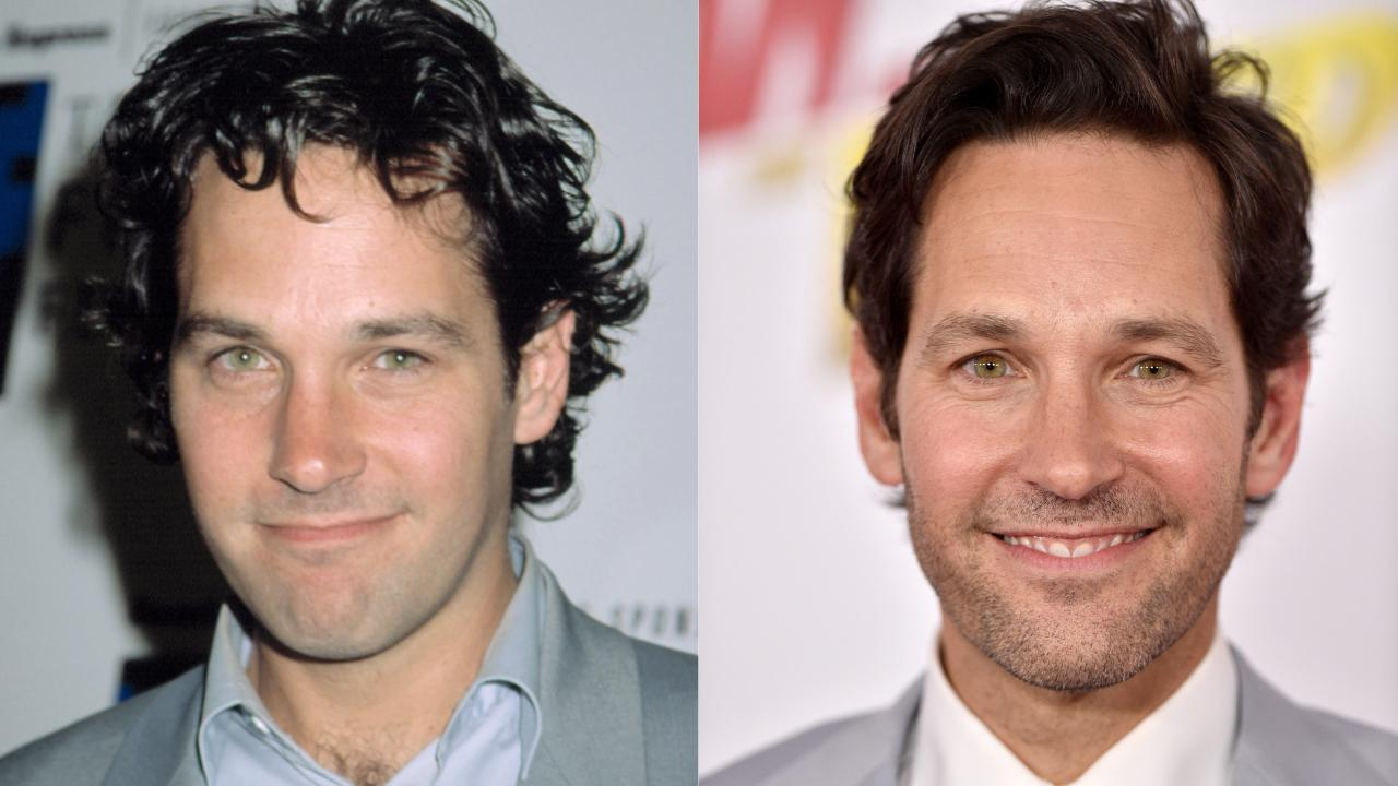 Paul Rudd : 2004 (époque de Friends)/2018 (Ant-Man et la Guêpe)