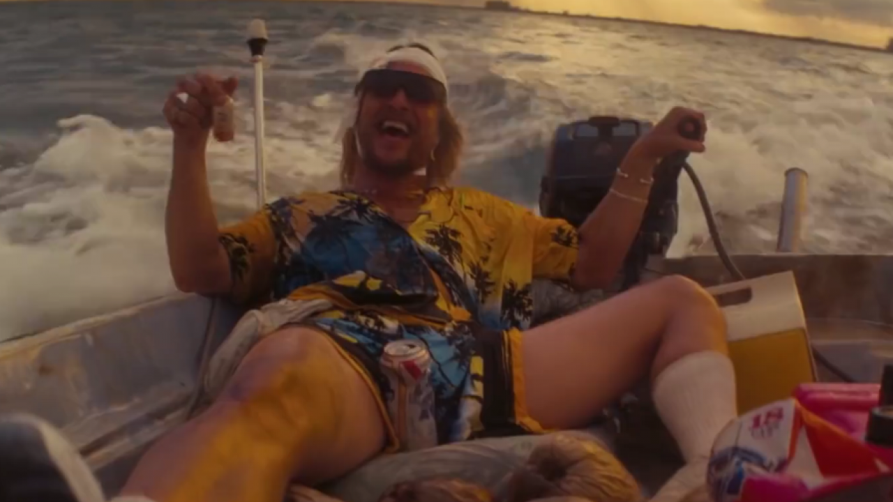 The Beach Bum Matthew McConaughey
