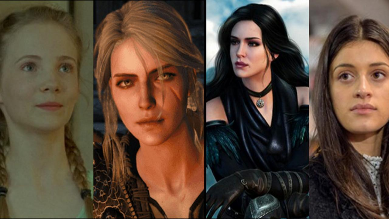 the witcher ciri yennefer