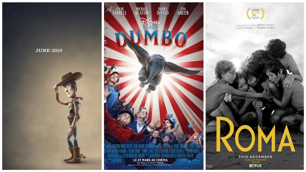 bandes annonce semaine : Roma, Dumbo, Toy Story 4