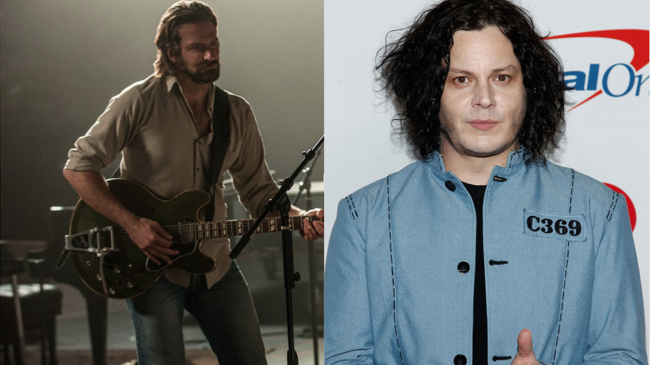 Bradley Cooper Jack White A Star Is Born