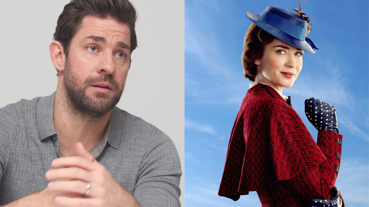 John Krasinski Mary Poppins