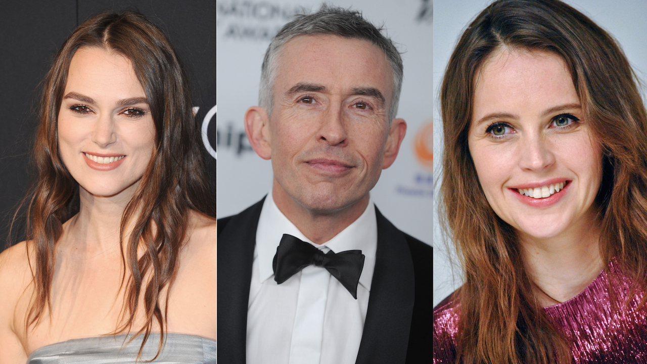 Keira Knightley Steve Coogan Felicity Jones