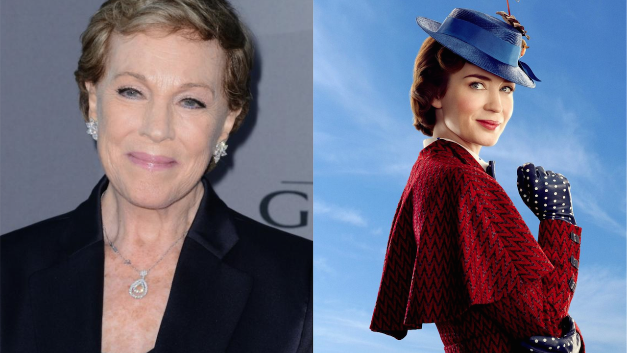 Julie Andrews Retour Mary Poppins