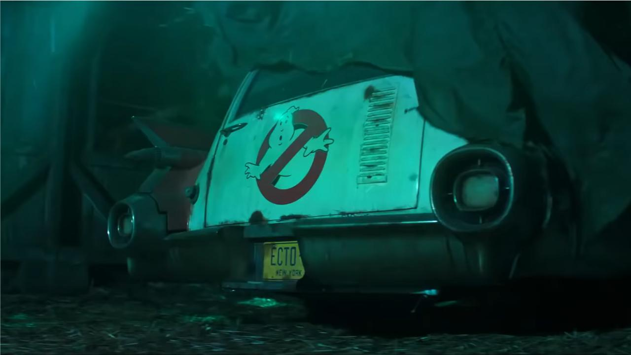 Ghostbusters Teaser Ecto 1