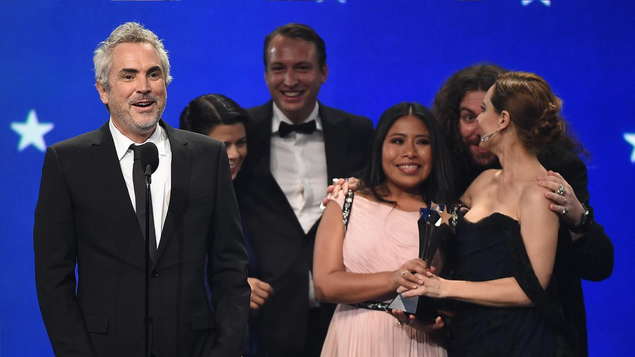 Alfonso cuaron Roma Critics' Choice Awards