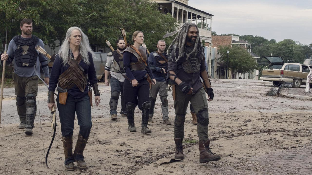 The Walking Dead 9x11 extrait