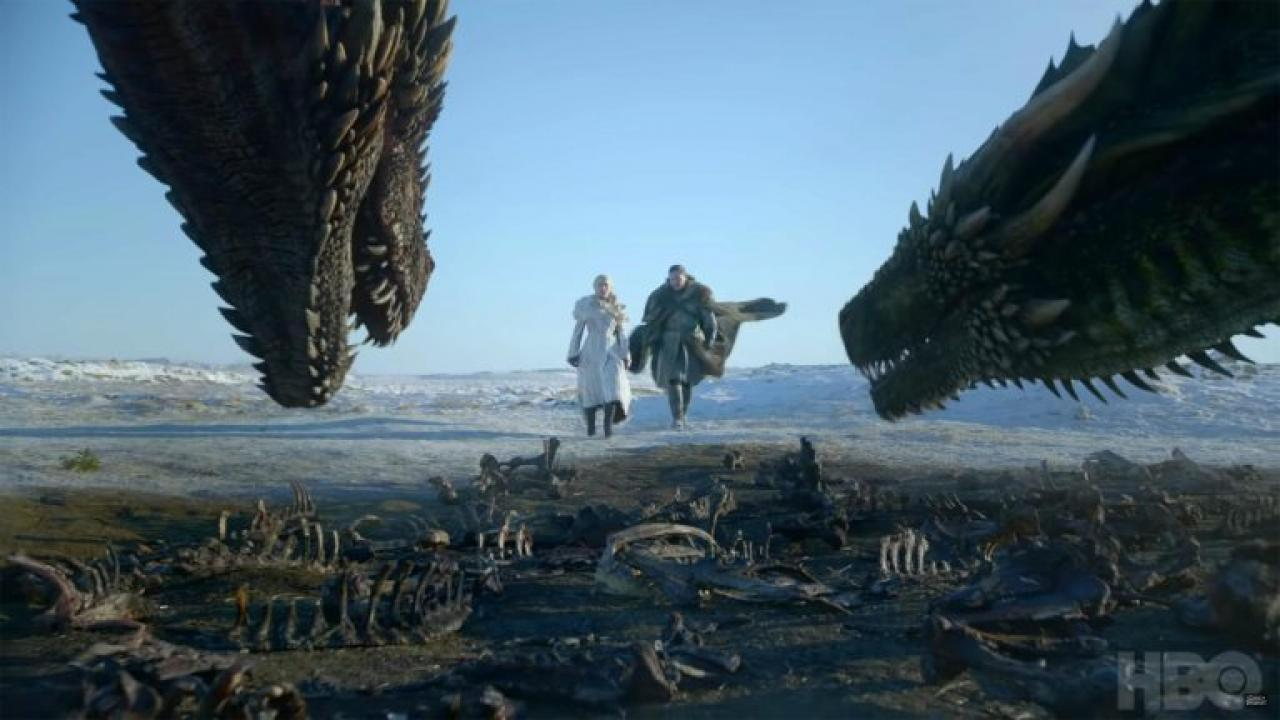GOT trailer saison 8 dragons