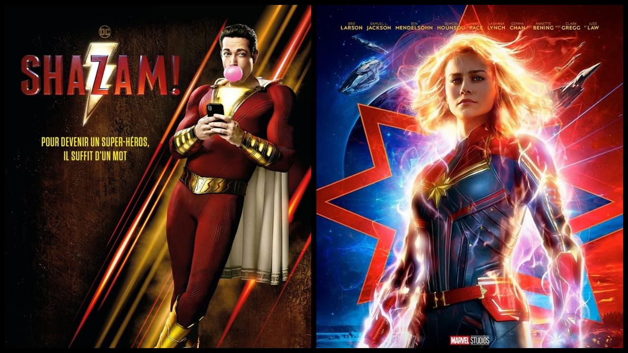Box-office US du 7 avril : Shazam ! démarre fort, Captain Marvel est milliardaire