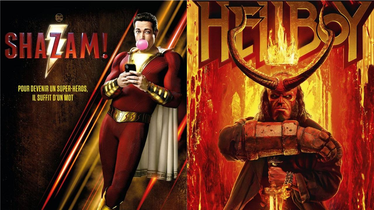 Box-office US du 14 avril : Shazam tient tête à Hellboy