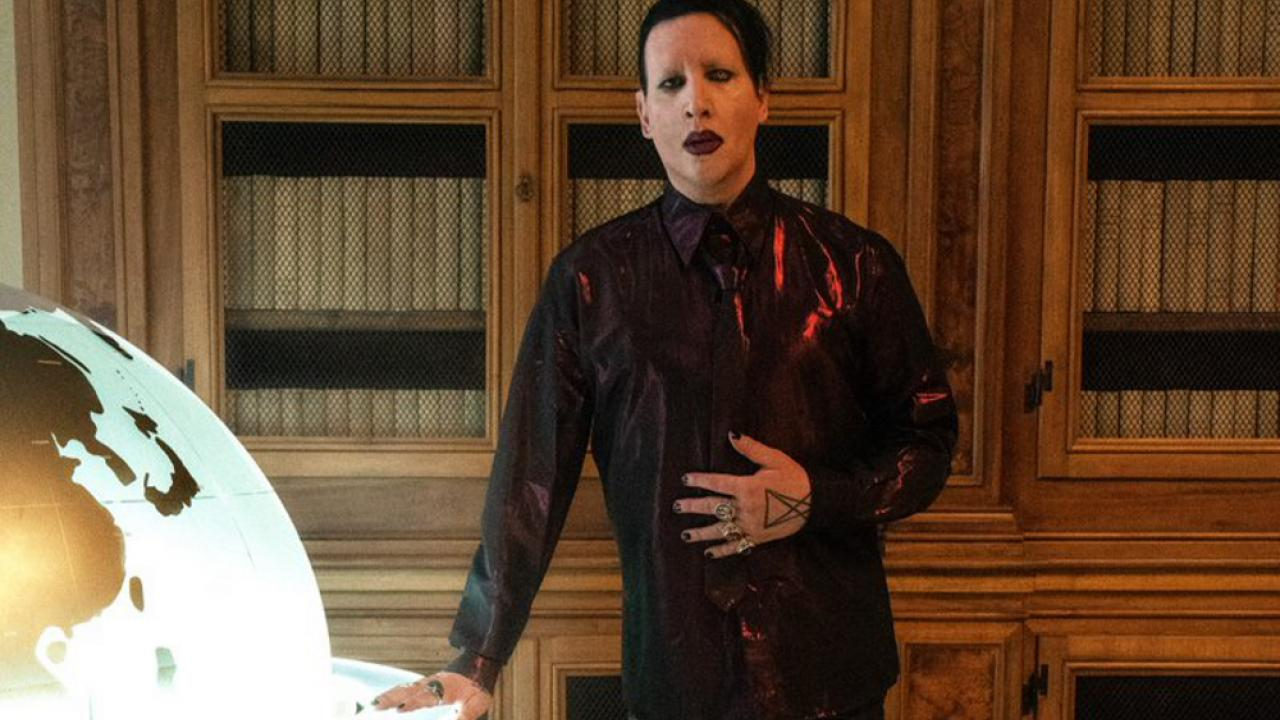 Marilyn Manson The New Pope
