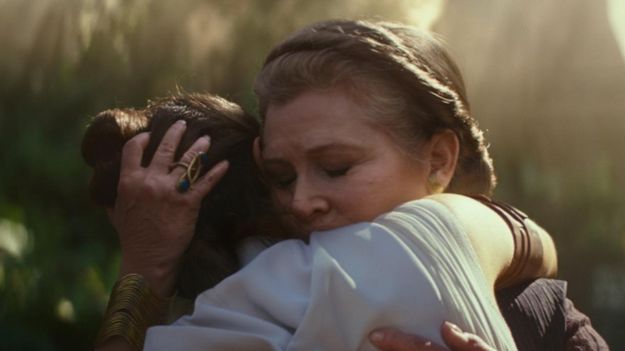 Carrie Fisher sera dans L'ascension de Skywalker