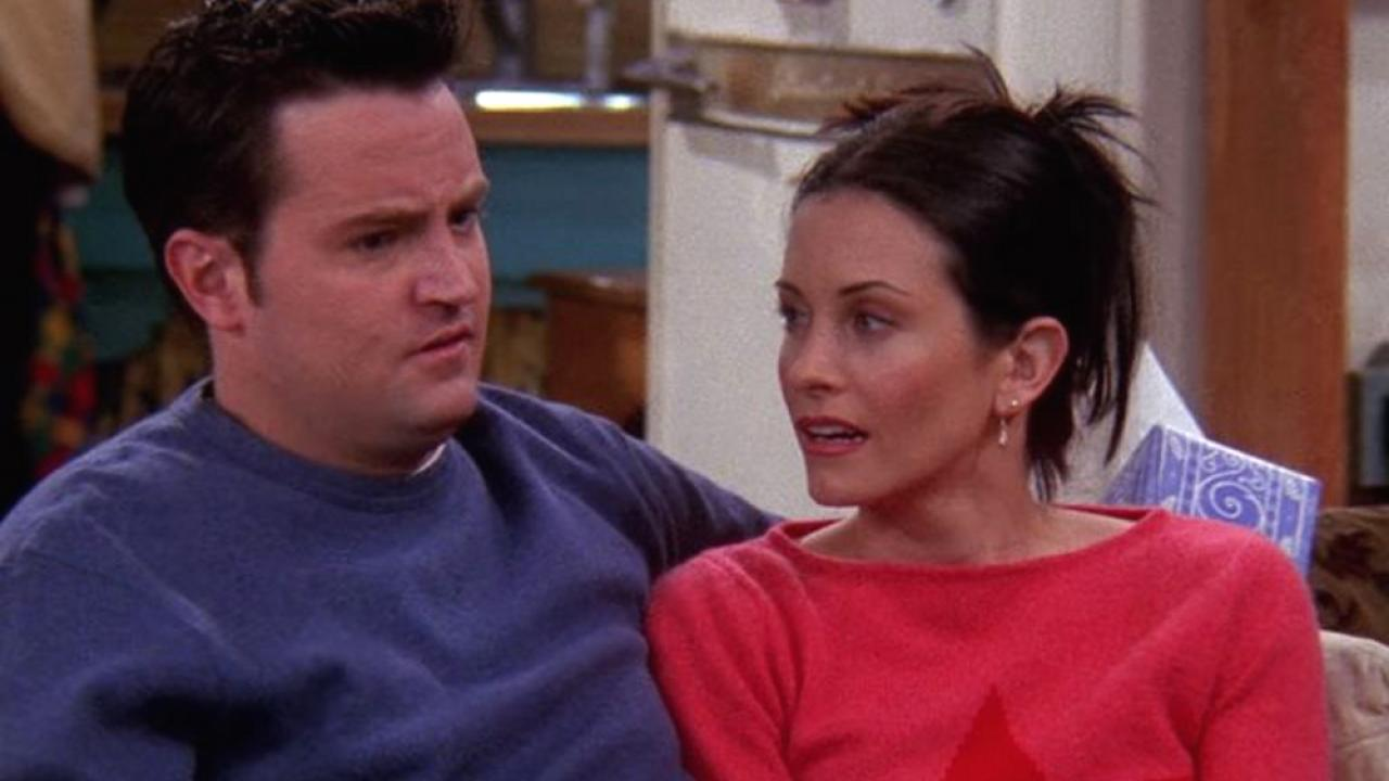 friends chandler et Monica