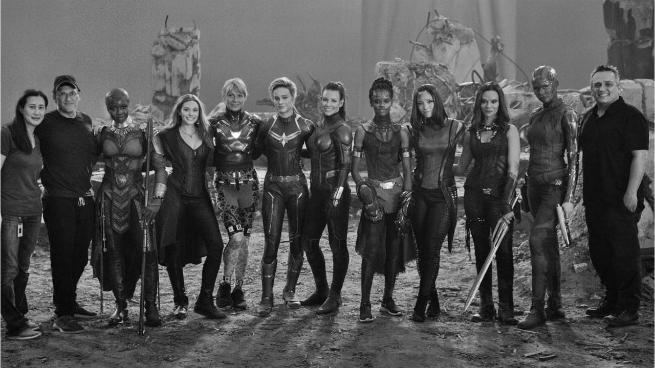 Avengers Endgame actrices