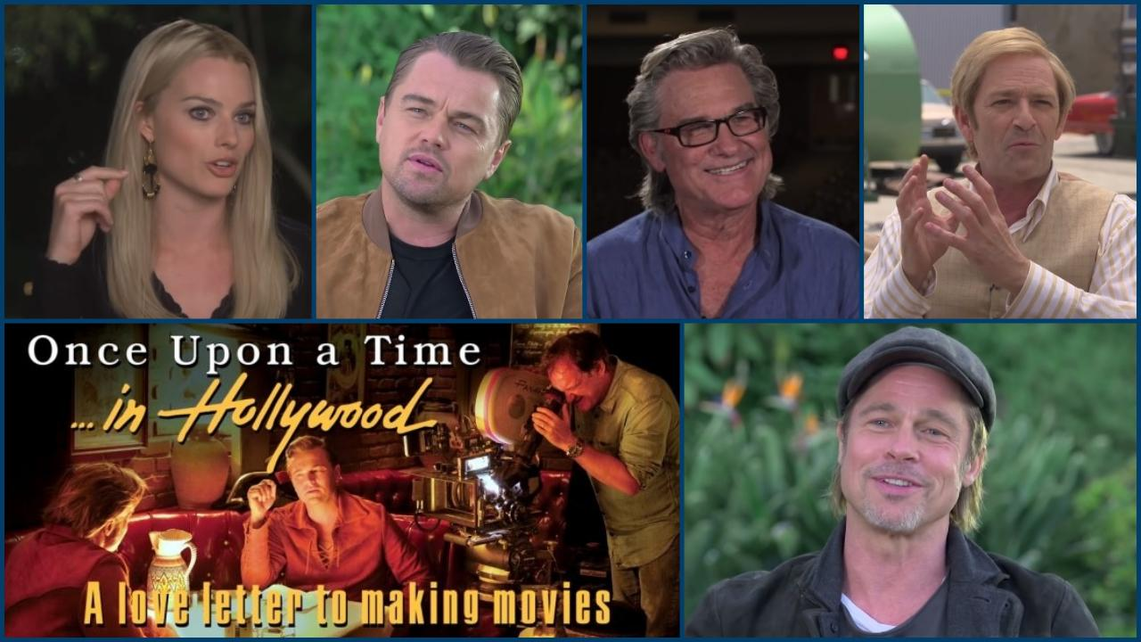 Once Upon a Time… in Hollywood Making-of