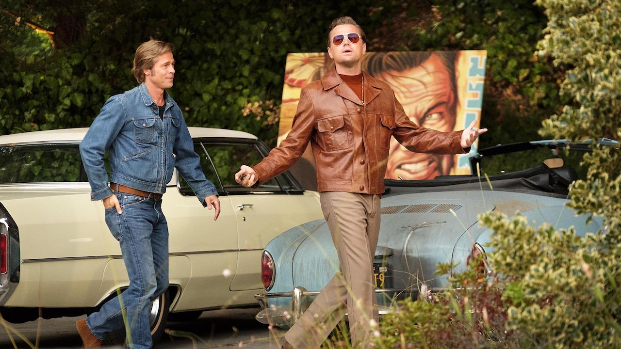 Brad Pitt et Leonardo DiCaprio dans Once Upon a Time in Hollywood