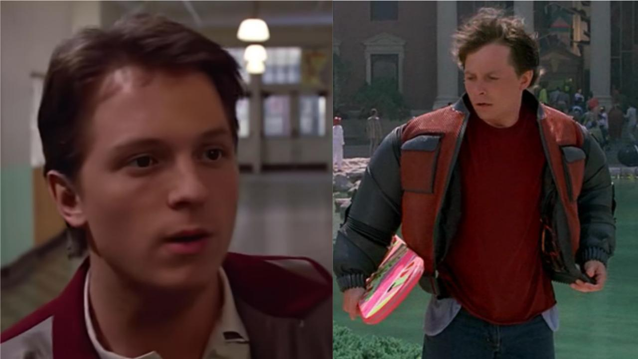 Tom Holland - Marty McFly
