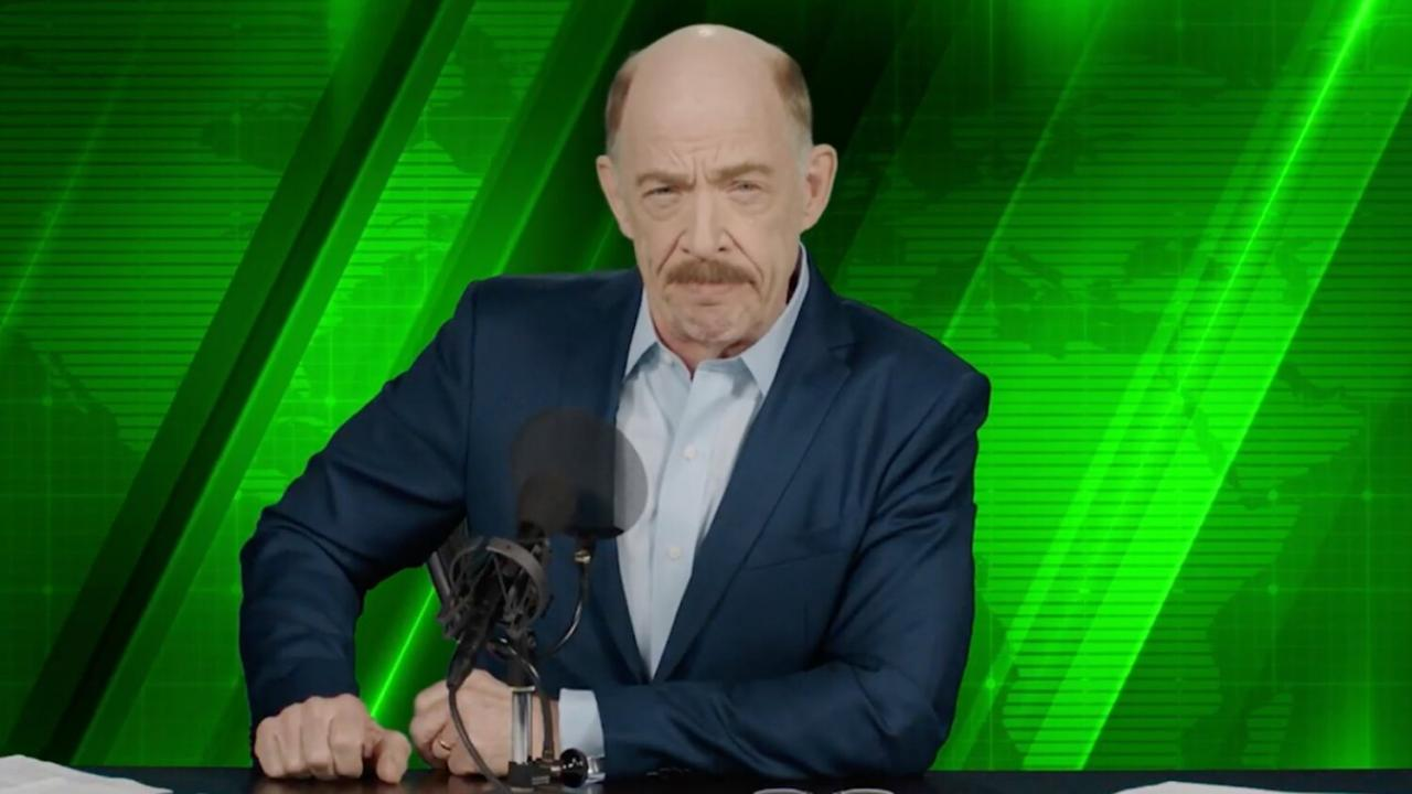 JK Simmons Spider-Man Far From Home Jonah Jameson