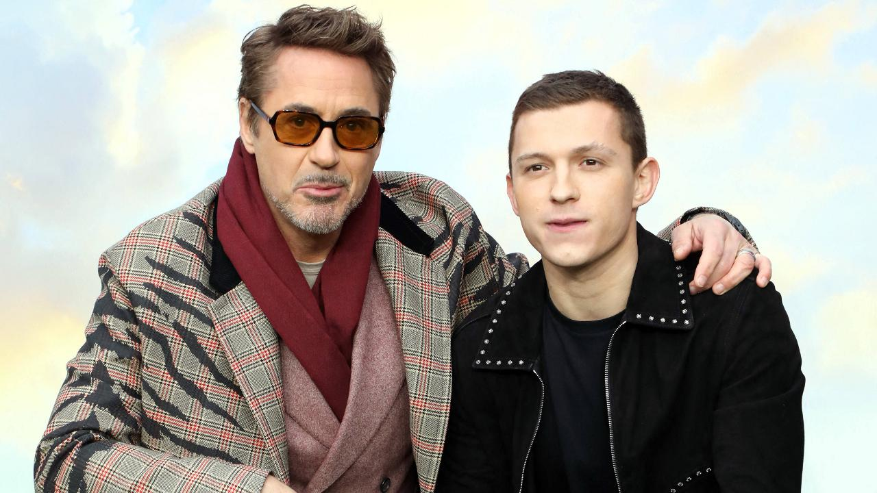 Robert Downey Jr. et Tom Holland