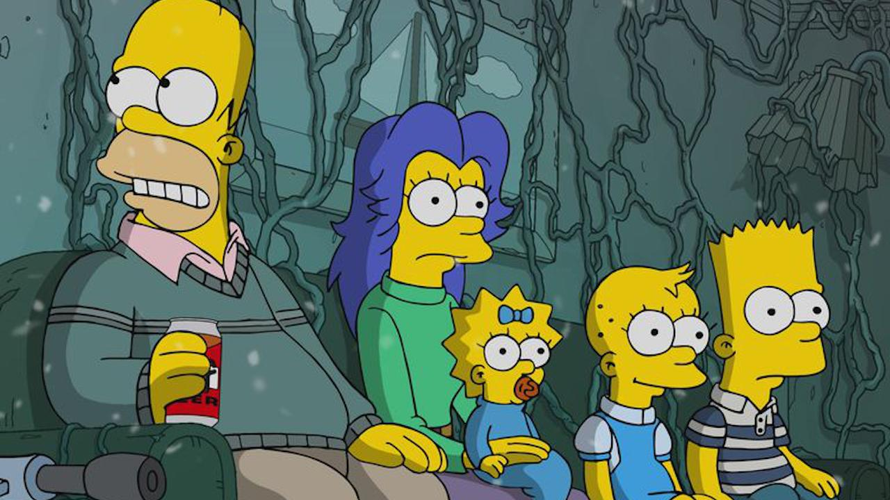 Les Simpson parodient Stranger Things