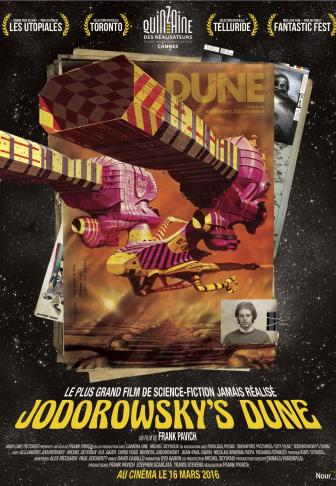 Jodorowsky's Dune, documentaire sorti en 2016