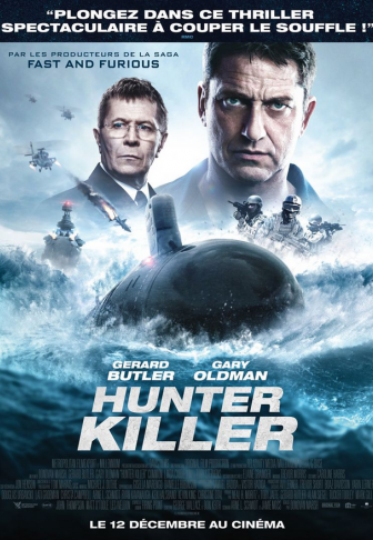 Hunter Killer affiche