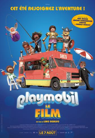 Playmobil le film affiche