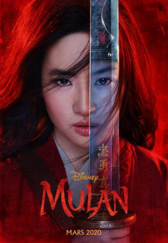 Mulan (affiche officielle)