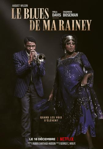 Le Blues de Ma Rainey affiche française