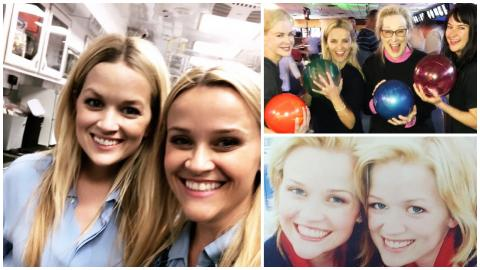 Reese Witherspoon tweete des photos