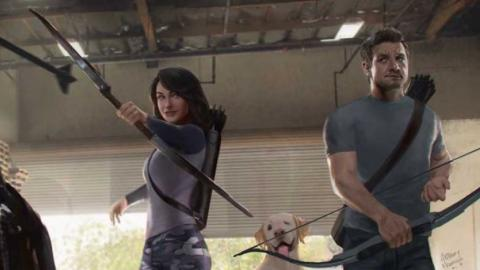 Hawkeye et Kate Bishop