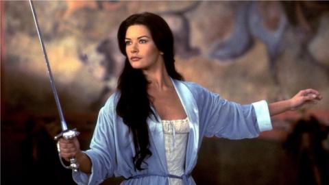 Catherine Zeta-Jones dans Le Masque de Zorro (1998)