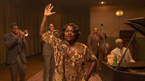 Viola Davis dans Ma Rainey's Black Bottom (Netflix)