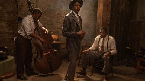 Chadwick Boseman dans Ma Rainey's Black Bottom (Netflix)