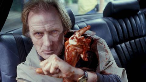 Bill Nighy dans Shaun of the dead de Edgar Wright (2004)