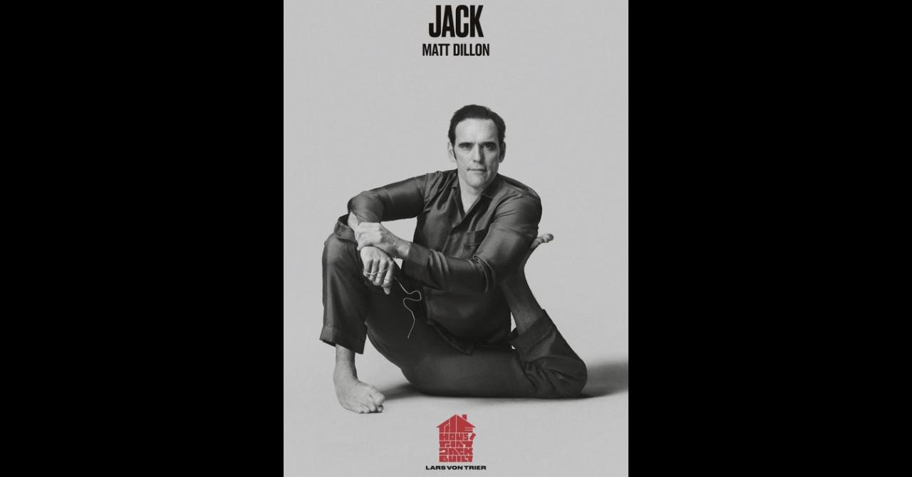 Poster de The House that Jack Built : Matt Dillon est Jack