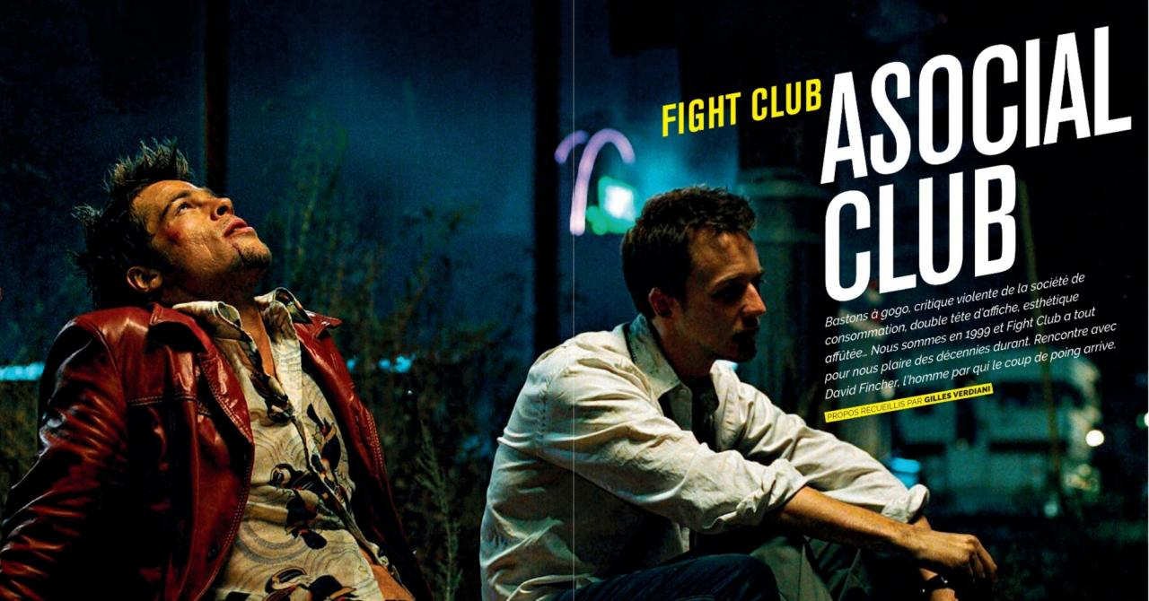 Fight Club sommaire Premiere Classics