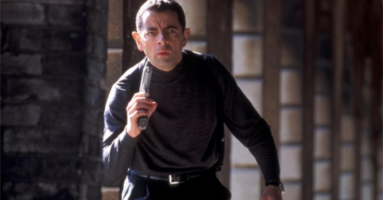Rowan Atkinson dans Johnny English (2003)