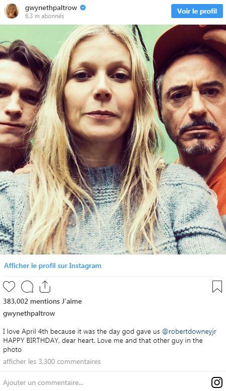 Gwyneth Paltrow trolle Tom Holland